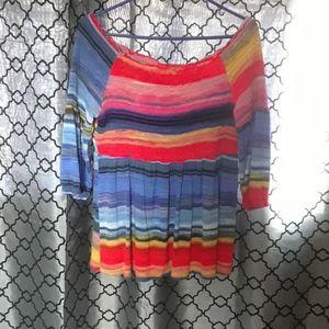 Rainbow cupio blouse